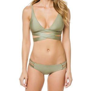 Becca by Rebecca Virtue Ballerina Wrap Bikini Set